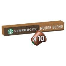 STARBUCKS by NESPRESSO House Blend Lungo Coffee Pods