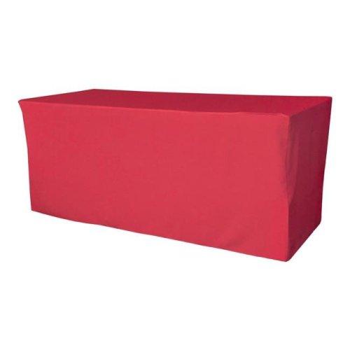 TCpop-fit-72x30x30-FuchsiaP49 2.23 lbs Polyester Poplin Fitted Tablecloth, Fuchsia