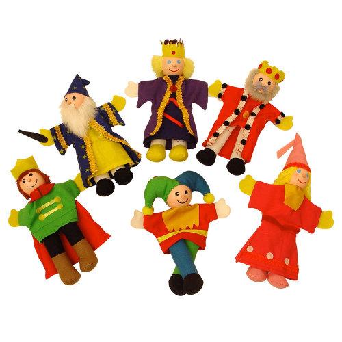 Bigjigs Toys Royalty Finger Puppets