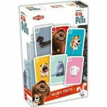 Secret Life Of Pets BUSY PETS Children's Fun Card Game 2 to 4 Players
