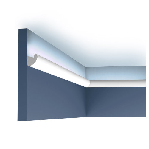 Orac Decor CX188 AXXENT Cornice moulding for indirect lighting 2 m