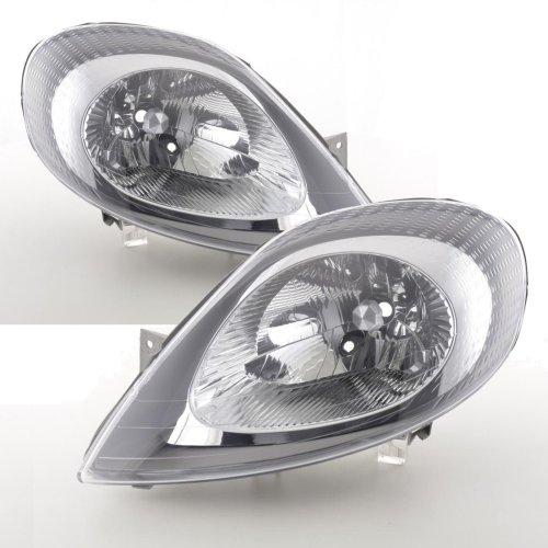 Vauxhall Vivaro 2001-2006 Headlights Headlamps 1 Pair O/s & N/s