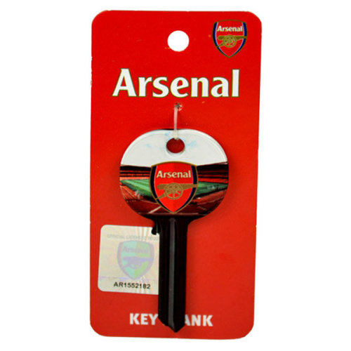 Arsenal Fc Key Blank - Door Official Crest New Football -  arsenal door key fc official crest new football