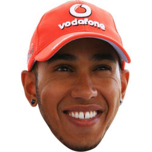 Lewis Hamilton 2018b Formula1 celebrity Party Face Fancy Dress