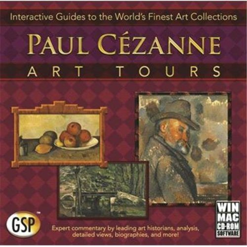 Global Software Publishing 138926 Paul Cezanne- Art Tours Interactive Guides