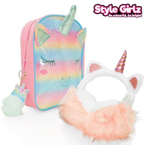 Style Girlz Backpack & Earmuffs Set