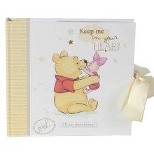 "Disney Magical Beginnings Baby Photo Album 50 x 4"" x 6"" Winnie the Pooh"