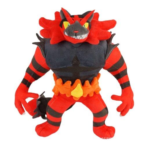 Incineroar Plush Toy Blazing Roaring Tiger Doll Figure