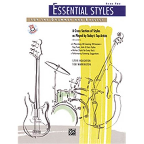 Alfred 00-4302 ESSENTIAL STYLES 2-BK&CD