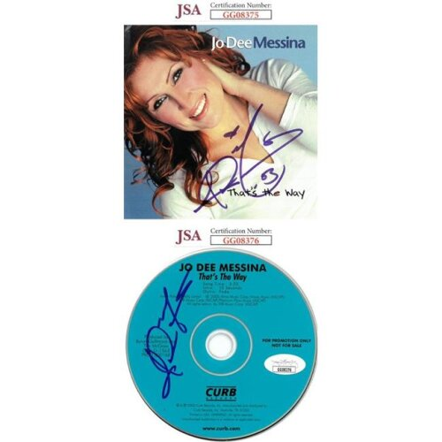 Athlon Sports CTBL-026595 Jo Dee Messina Signed 2000 Thats ...