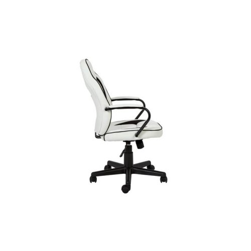 Argos Home Faux Leather Mid Back Gaming, Armchair With Footrest Argos