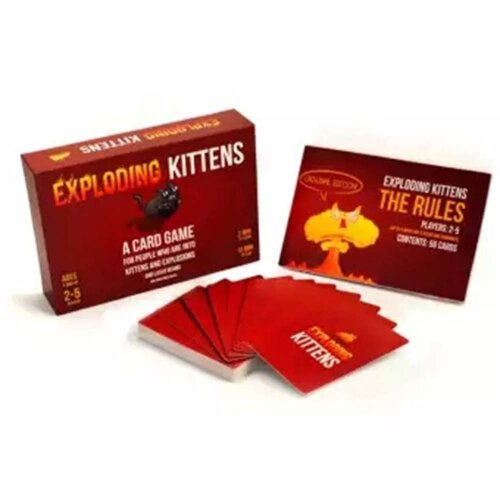 Exploding Kittens Sealed 24hr Dispatch Card Game Brand New