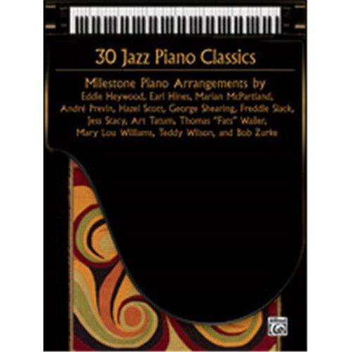 Alfred 00-37165 30 JAZZ PIANO CLASSICS D
