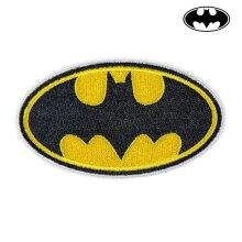 Patch Batman Yellow Black Polyester