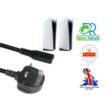Brand New Replacement Power Cable Lead For PS5 Playstation 5 Console