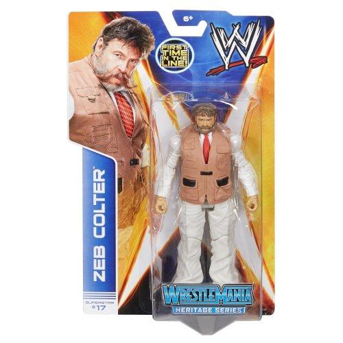 WWE Zeb Colter Series 37 #17 Mattel Wrestling Figure Brand New Sealed