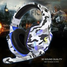 K17 Gaming LED Headset MIC Headphones for PS4 3.5mm PC Laptop Pro