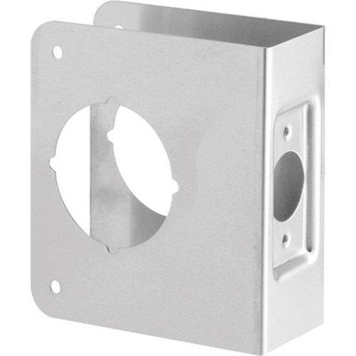 U9553 Recessed Door Reinforcer  Stainless Steel - 2.13 in.  3.88 x 4.5 in.