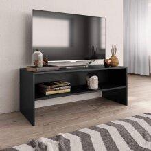 TV Cabinet Black 100x40x40 cm Chipboard