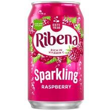 Ribena Sparkling Raspberry Cans - 24x330ml