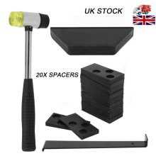 Wood Laminate Tool Floor Fitting Installation Kit with 20 Spacer