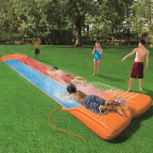 Bestway H2OGO Water Slide Double Slide Kids Outdoor Garden Summer Play Centre