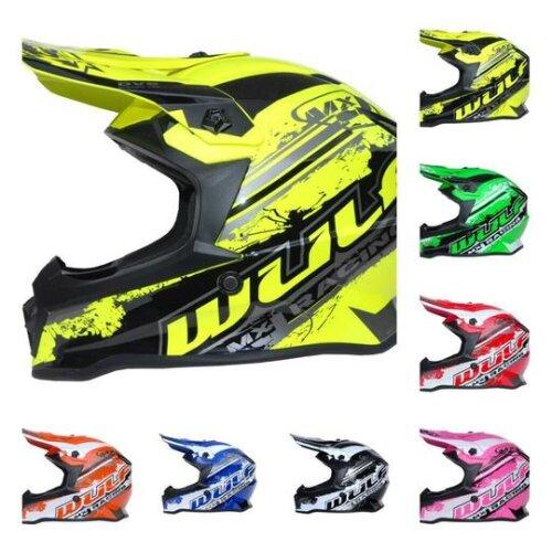 WulfSport Cub Junior MX PRO Motocross Helmet 2021 range