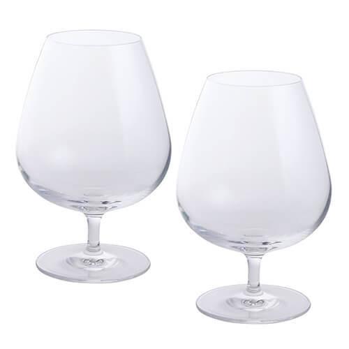 Dartington 2-Piece Crystal Wine and Bar Brandy Glass