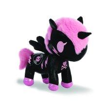 Aurora World 15681 Tokidoki DJ Sparkle Unicorn Plush Toy, 8-inch