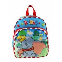 "Mini Backpack - Disney - Dumbo Circus Blue 10"" New 008581"