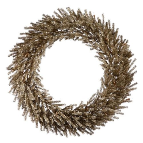 Vickerman B162424 Mocha Wreath, 24 in. - PVC