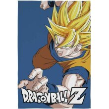 Dragon Ball Z Battle Coral Fleece Blanket Bed Throw