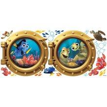 Disney RoomMates Giant Children's Repositonable Wall Stickers Finding Nemo, Multi-Color