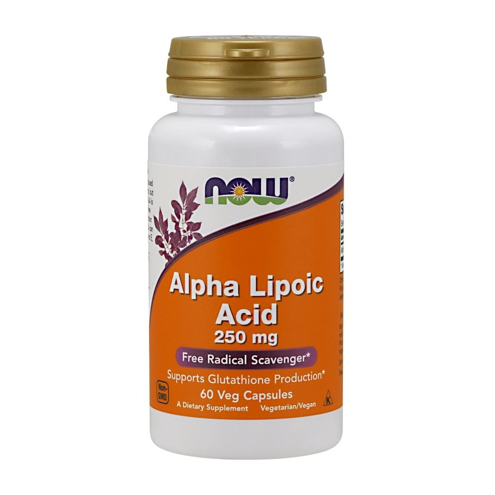 NOW Foods Alpha Lipoic Acid, 250mg, 60 vcaps