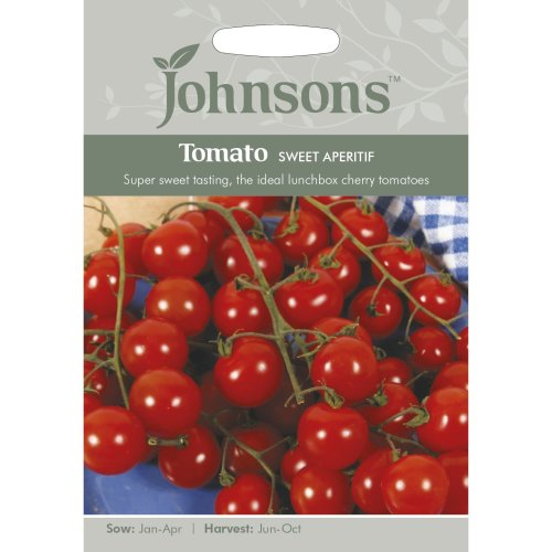 Johnsons Seeds - Pictorial Pack - Vegetable - Tomato Sweet Aperitif - 20 Seeds