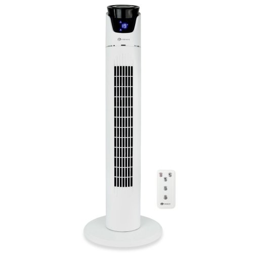 PureMate Oscillating 36-inch Cooling Tower Fan with Timer and 3 Speed Settings