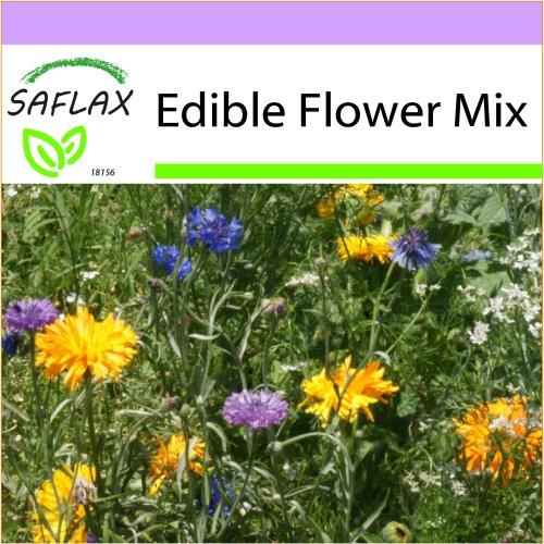 SAFLAX  - Edible Flower Mix - 12 Sorten - 1000 seeds