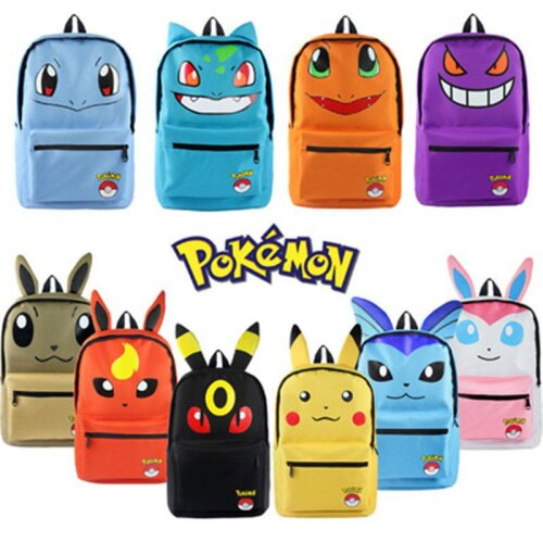 Pokemon 3D Shoulder Schoolbag Bag Cartoon Backpack