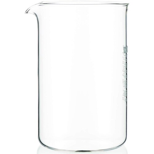 Bodum Spare Glass for French Press Coffee Makers, 1.5 Litre - 12 Cup