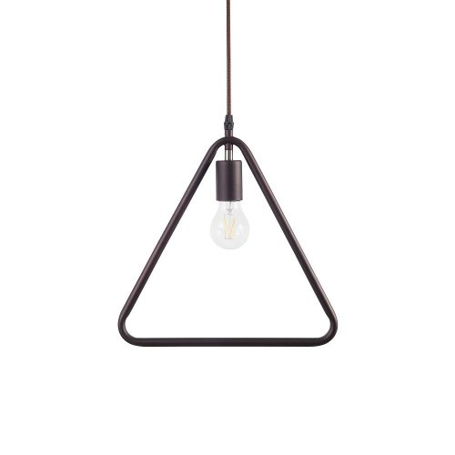 Pendant Light Metal Brown JURUENA
