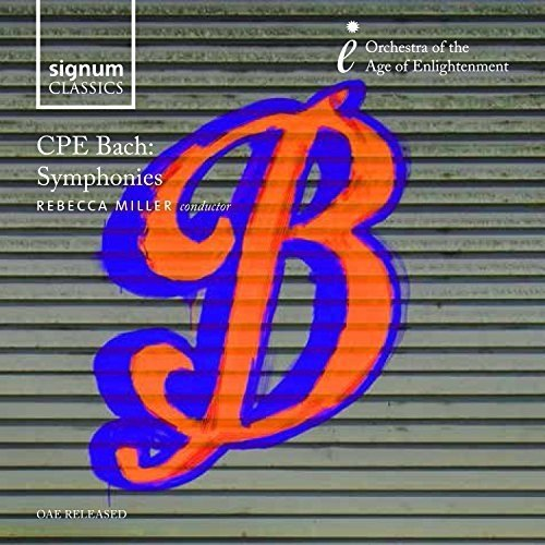 Orchestra of the Age of Enlightenment - CPE Bach: Symphonies [CD]