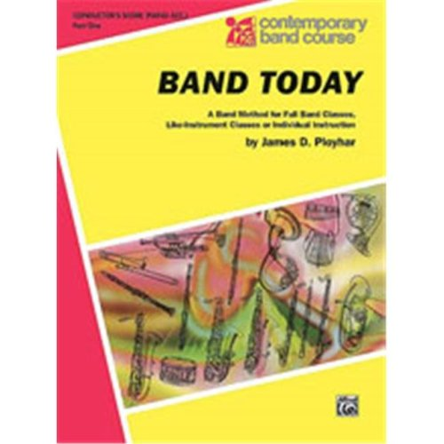 Alfred 00-CBC00020 BAND TODAY PT 1 CONDUCTOR