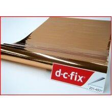 Rose Gold Gloss Contact Paper d-c-fix 100cm x 45cm self adhesive vinyl 201-4531