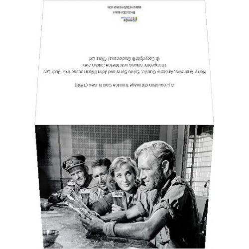 (6x8 Greeting Card) A production still image from Ice Cold In Alex (1958) (Greeting Card)
