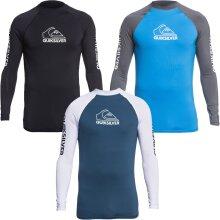 Quiksilver Mens On Tour Long Sleeve UPF 50 Rash Vest Guard T-Shirt Top