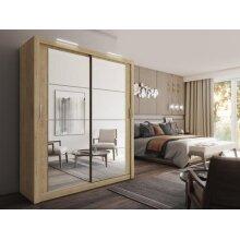 Arti 3 - 2 Sliding Door Wardrobe 181cm