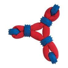 Chompers WB11457 Gladiator Tuff Nylon Triangle Tug Dog Toy