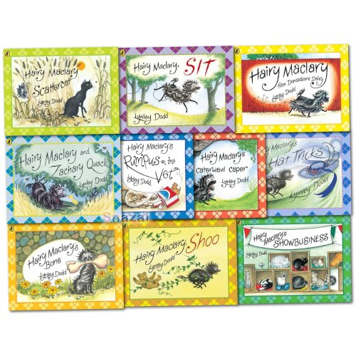 Lynley Dodd Hairy Maclary and Friends Series 10 Books Collection Set