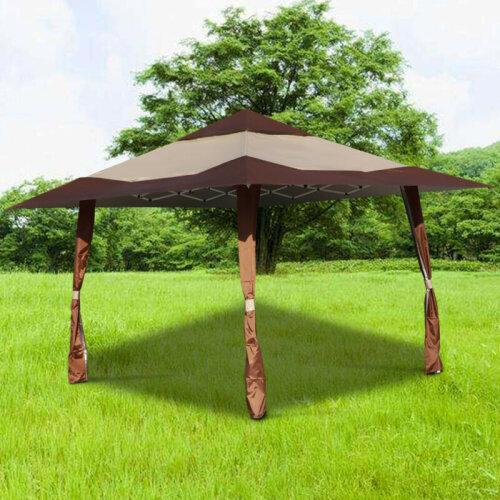 4m x 4m Garden Folding Tent Pop Up Gazebo Outdoor BBQ Party Marquee