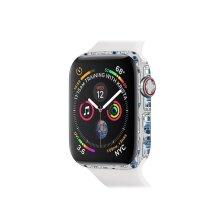 MightySkins APW440-Galaxy Bots Skin for 40 mm Apple Watch Series 4, Galaxy Bots